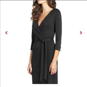 DVF Classic New Julian Classic Wrap dress black 0